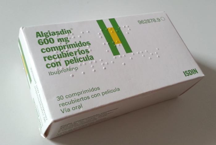 Cena ibuprofen Hiszpania