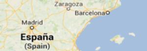 Hiszpania Mapa