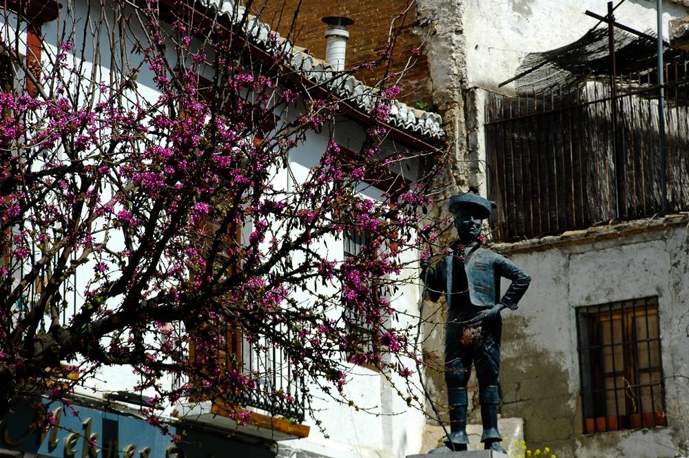 Dzielnica z jaskiniami Granada