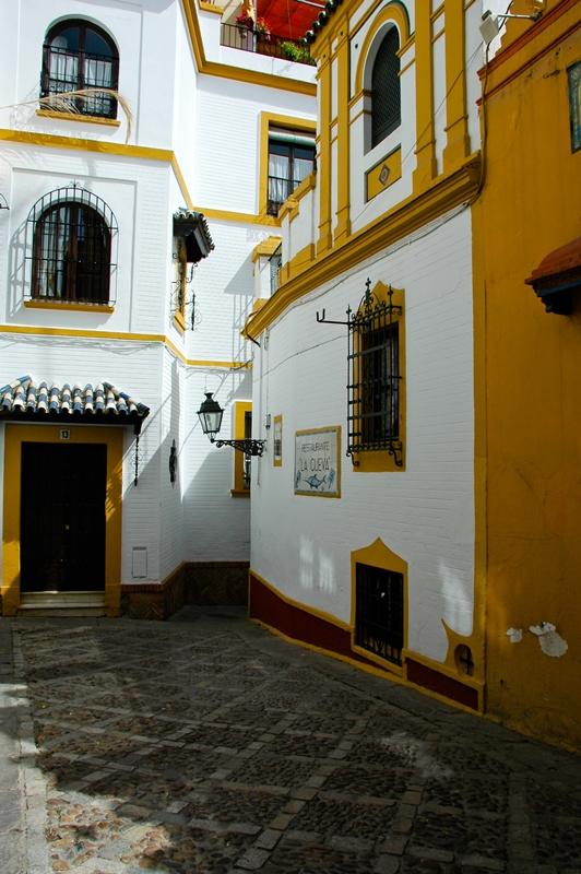 Dzielnica Santa Cruz Sewilla