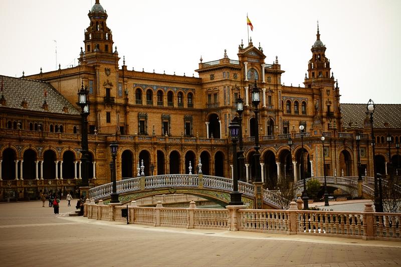 Sewilla Plaza de Espana