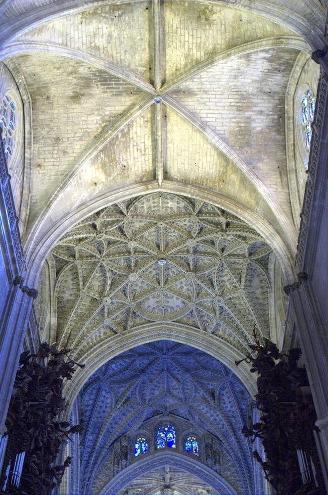 W środku katedry w Sewilli