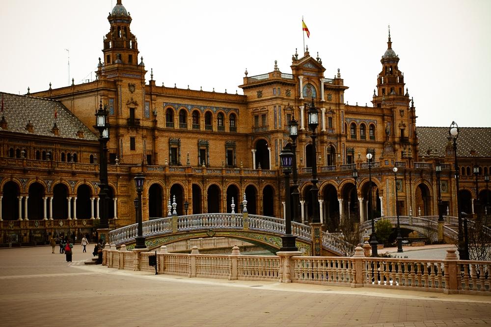 Sewilla: Plaza de España