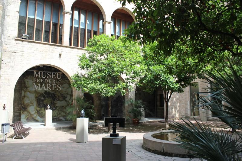 Barcelona Muzeum Frederic Mares