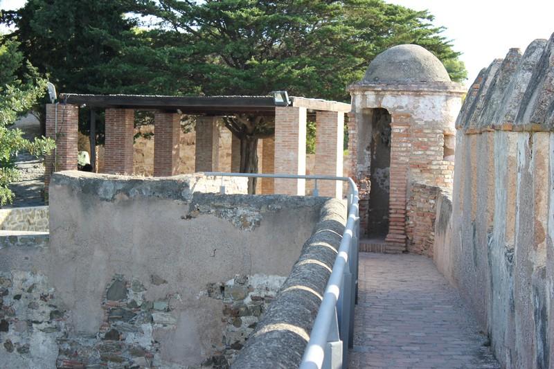 Malaga Zamek Gibralfaro 02