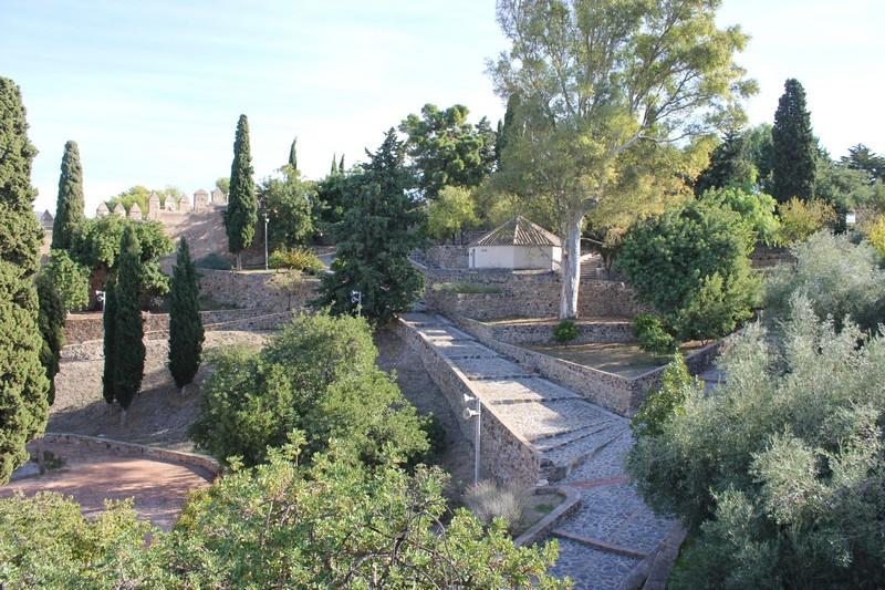 Malaga Zamek Gibralfaro 05