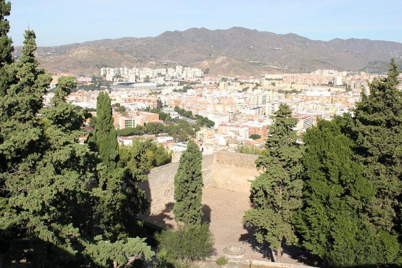 Malaga Zamek Gibralfaro 11