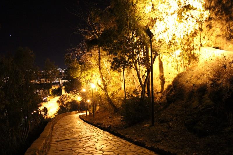 Malaga Zamek Gibralfaro 18