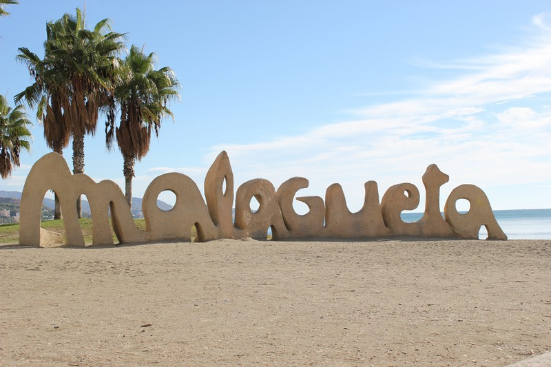 Malaga Plaża Malagueta 01