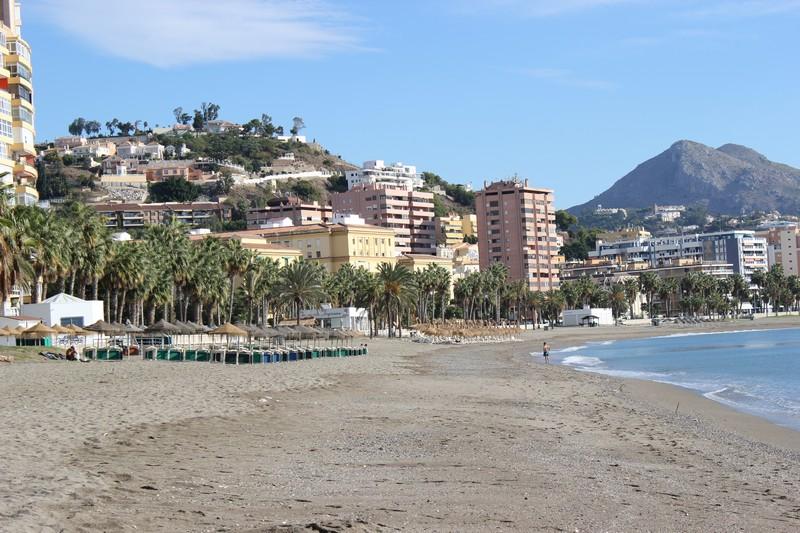 Malaga Plaża Malagueta 02