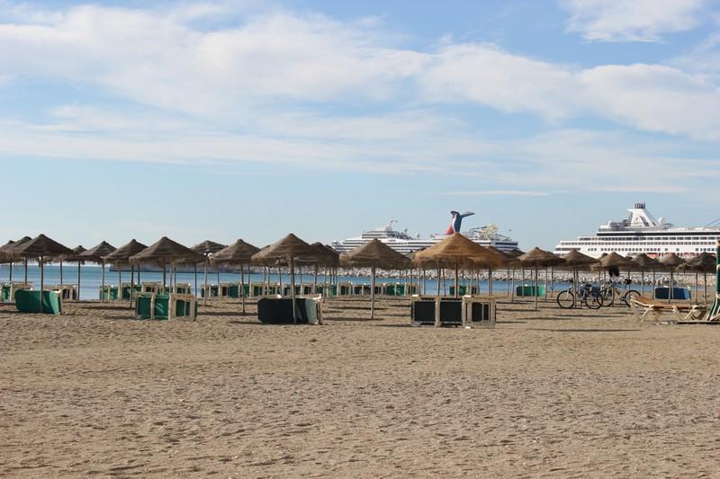 Malaga Plaża Malagueta 04
