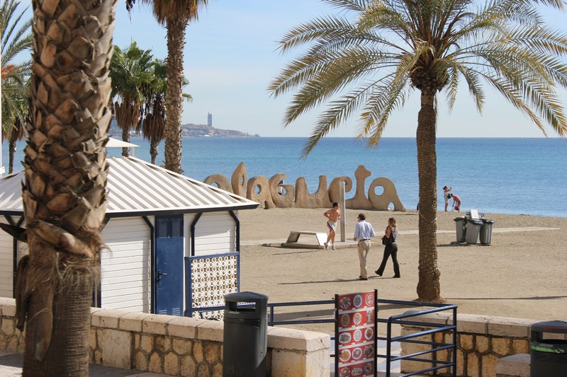 Malaga Plaża Malagueta 05