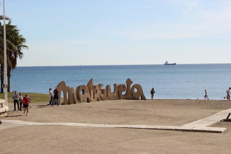 Malaga Plaża Malagueta 07