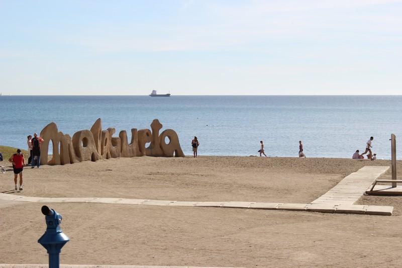 Malaga Plaża Malagueta 08