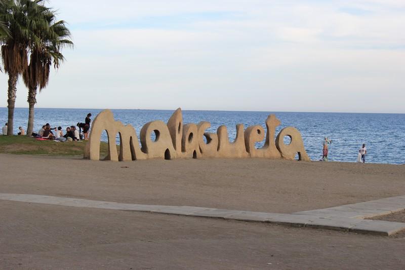 Malaga Plaża Malagueta 09