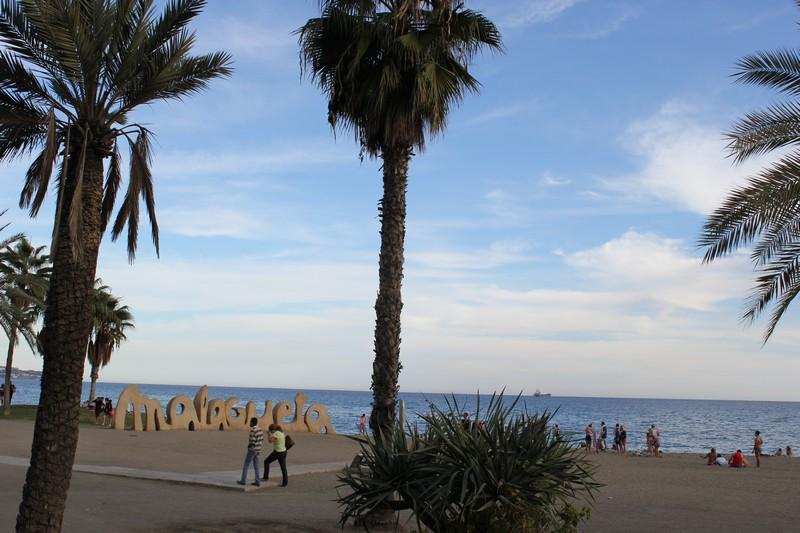 Malaga Plaża Malagueta 11