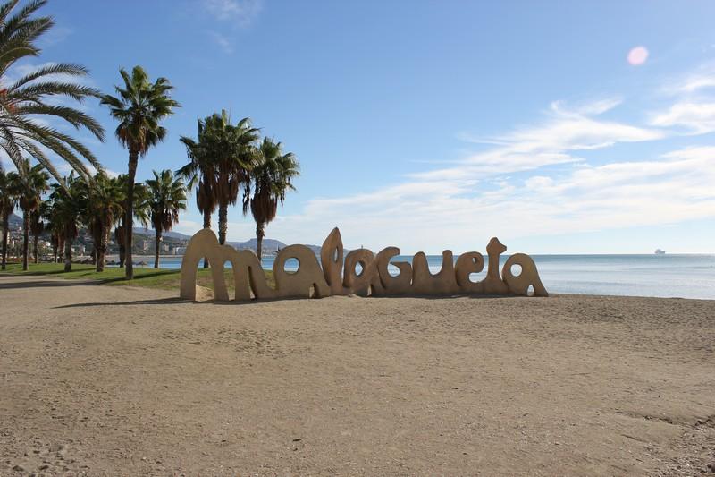 Malaga Plaża Malagueta 12