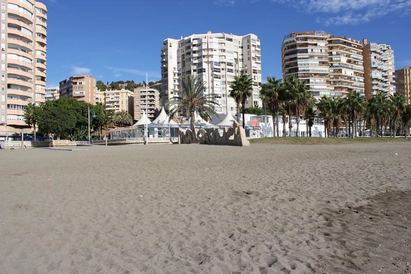 Malaga Plaża Malagueta 13