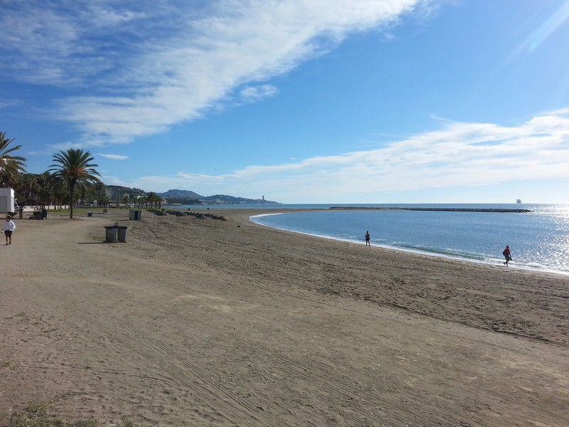 Malaga Plaża Malagueta 14