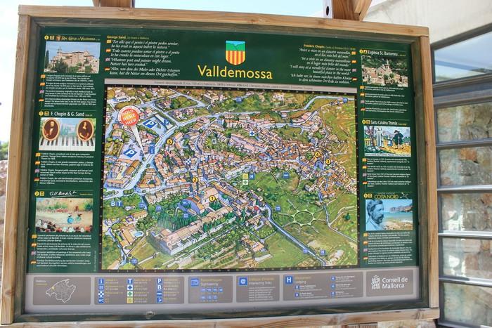 Valldemossa Plan miasta