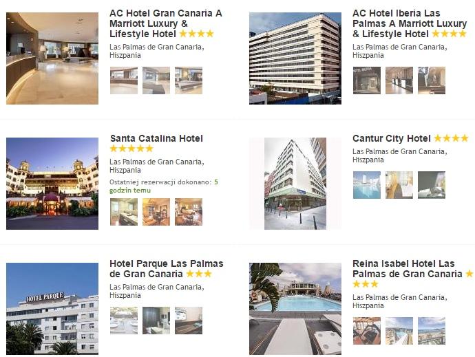 Las Palmas Hotele