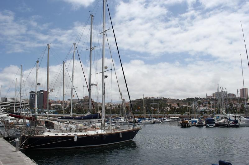 Przystań jachtow Las Palmas